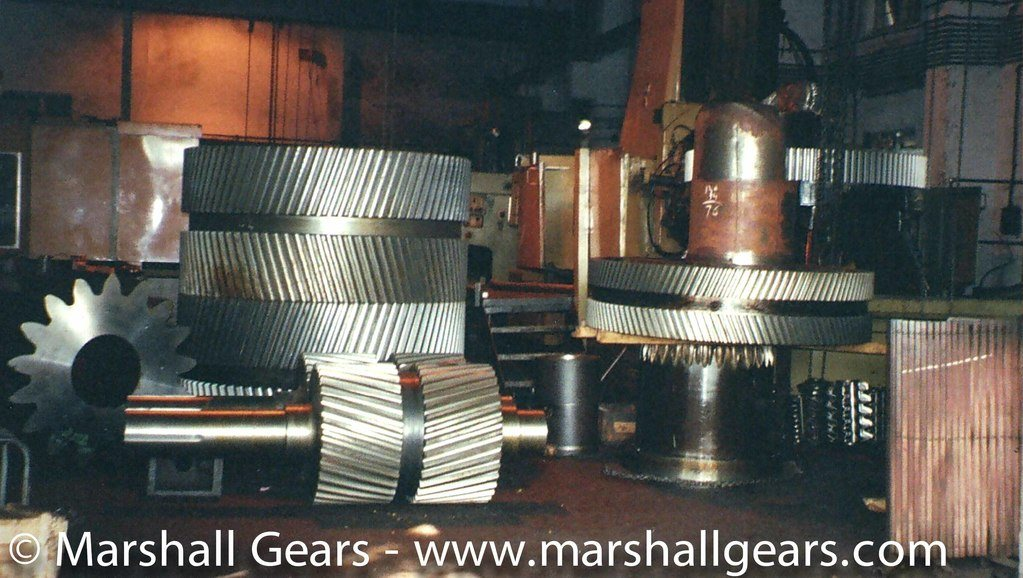 Industrial Gears for Cement Industry